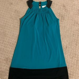 Retro turquoise Dress